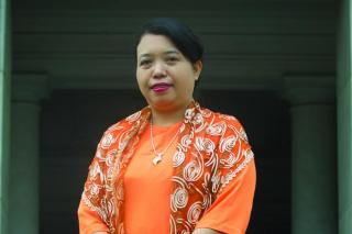 Professor Dr Thida Win who is featured in this report