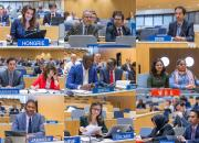 Collage of individual WIPO delegates, showing each country, to SCCR/36