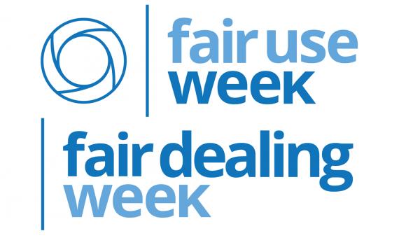 Fair Use / Fair Dealing Week logo